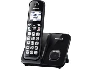 Panasonic KX-TGD510B Cordless Phone With Handset Cordless Phone - 1 Handset
