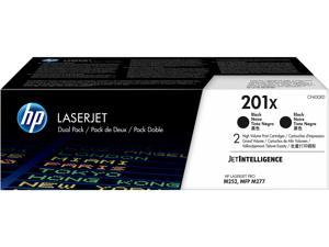 HP 201X - 2-pack - High Yield - black - original - LaserJet - toner cartridge (CF400XD) - for Color LaserJet Pro M252dn,