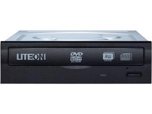 Lite-On 24X SATA Internal DVD/RW Optical Drives Black Model IHAS324-17
