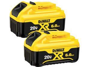 DeWALT DCB206-2 20-Volt 6.0-Ah MAX XR Premium Lithium-Ion Battery Pack - 2pk