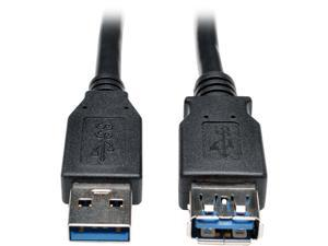 Tripp Lite Usb 3.0 Superspeed Extension Cable - Usb-A To Usb-A M/F Black 3 Ft. (0.9 M)