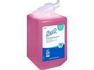 Scott Essential (formerly Kleenex) Gentle Lotion Skin Cleanser (91556), Floral, Pink, 1.0 L, 6 Packages / Case - Same Kleenex quality, now Scott branded