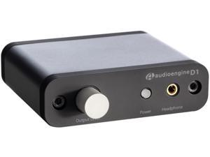 Audioengine D1 Premium 24-Bit DAC With Headphone Amp (Black)