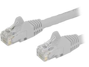 StarTech N6PATCH30WH StarTech.com Cat6 Patch Cable - 30 ft - White Ethernet Cable - Snagless RJ45 Cable - Ethernet Cord - Cat 6 Cable - 30ft