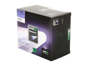 AMD Phenom II X4 925 - Phenom II X4 Deneb Quad-Core 2.8 GHz Socket AM3 95W Processor - HDX925WFGIBOX