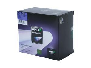 AMD Phenom II X2 545 Callisto Dual-Core 3.0 GHz Socket AM3 80W HDX545WFGIBOX Processor