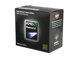 AMD Phenom II X4 965 Black Edition Deneb Quad-Core 3.4 GHz Socket AM3 125W HDZ965FBGMBOX Processor