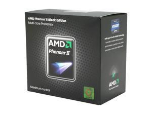 AMD Phenom II X4 970 Black Edition - Phenom II X4 Deneb Quad-Core 3.5 GHz Socket AM3 125W Desktop Processor - HDZ970FBGMBOX
