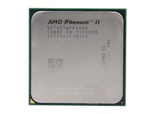 AMD Phenom II X6 1065T Thuban 6-Core 2.9GHz (3.4GHz Turbo Boost) Socket AM3 95W HDT65TWFK6DGR Desktop Processor