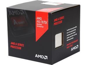 AMD A10-7870K with AMD Quiet Cooler Quad-Core Socket FM2+ 95W AD787KXDJCSBX Desktop Processor AMD Radeon R7