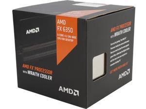 AMD FX-6350 Vishera 6-Core 3.9 GHz (4.2 GHz Turbo) Socket AM3+ 125W FD6350FRHKHBX Desktop Processor