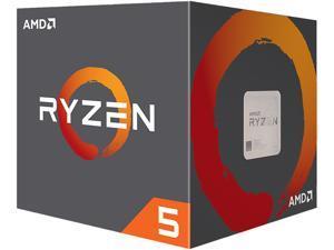 AMD Ryzen 5 2nd Gen - RYZEN 5 2600 Pinnacle Ridge (Zen+) 6-Core 3.4 GHz (3.9 GHz Max Boost) Socket AM4 65W YD2600BBAFBOX Desktop Processor