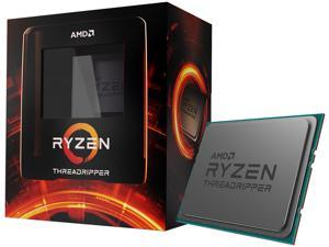 AMD Ryzen Threadripper 3960X - Ryzen Threadripper 3rd Gen 24-Core 3.8 GHz Socket sTRX4 280W Desktop Processor - 100-100000010WOF