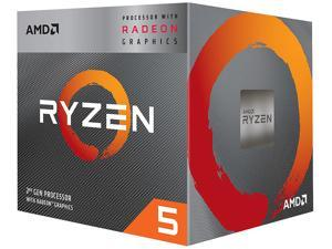 AMD Ryzen 5 2nd Gen with Radeon Graphics - Ryzen 5 3400G Picasso (Zen+) Quad-Core 3.7 GHz Socket AM4 65W YD340GC5FHBOX Desktop Processor AMD Radeon RX Vega 11