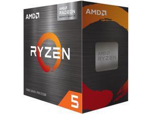 AMD Ryzen 5 5600G - Ryzen 5 5000 G-Series Cezanne (Zen 3) 6-Core 3.9 GHz Socket AM4 65W AMD Radeon Graphics Desktop Processor - 100-100000252BOX