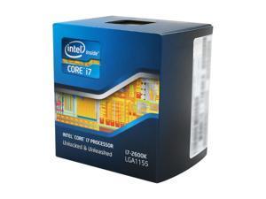 Intel Core i7-2600K - Core i7 2nd Gen Sandy Bridge Quad-Core 3.4GHz (3.8GHz Turbo Boost) LGA 1155 95W Intel HD Graphics 3000 Desktop Processor - BX80623I72600K