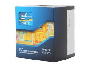 Intel Core i5-3570 - Core i5 3rd Gen Ivy Bridge Quad-Core 3.4GHz (3.8GHz Turbo Boost) LGA 1155 77W Intel HD Graphics 2500 Desktop Processor - BX80637i53570