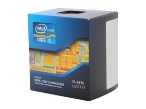 Intel Core i5-3470 - Core i5 3rd Gen Ivy Bridge Quad-Core 3.2 GHz LGA 1155 77W Intel HD Graphics 2500 Desktop Processor - BX80637i53470