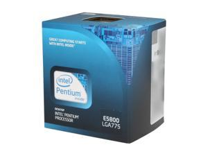Intel Pentium E5800 Wolfdale Dual-Core 3.2 GHz LGA 775 65W BX80571E5800 Desktop Processor
