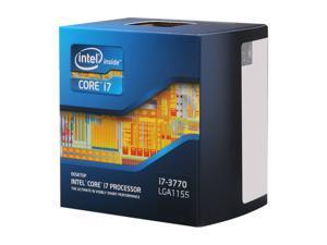 Intel Core i7-3770 - Core i7 3rd Gen Ivy Bridge Quad-Core 3.4GHz (3.9GHz Turbo) LGA 1155 77W Intel HD Graphics 4000 Desktop Processor - BX80637I73770