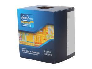 Intel Core i5-3550 - Core i5 3rd Gen Ivy Bridge Quad-Core 3.3GHz (3.7GHz Turbo) LGA 1155 77W Intel HD Graphics 2500 Desktop Processor - BX80637I53550