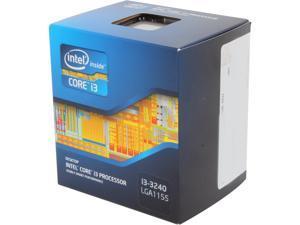 Intel Core i3-3240 - Core i3 3rd Gen Ivy Bridge Dual-Core 3.4 GHz LGA 1155 55W Intel HD Graphics 2500 Desktop Processor