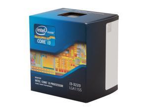 Intel Core i3-3220 - Core i3 3rd Gen Ivy Bridge Dual-Core 3.3 GHz LGA 1155 55W Intel HD Graphics 2500 Desktop Processor