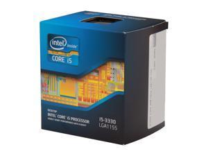 Intel Core i5-3330 - Core i5 3rd Gen Ivy Bridge Quad-Core 3.0GHz (3.2GHz Turbo) LGA 1155 Intel HD Graphics 2500 Desktop Processor - BX80637i53330