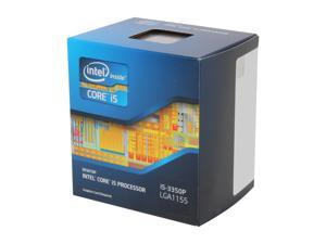 Intel Core i5-3350P - Core i5 3rd Gen Ivy Bridge Quad-Core 3.1GHz (3.3GHz Turbo) LGA 1155 69W Desktop Processor - BX80637i53350P