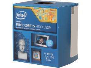 Intel Core i5-4570S - Core i5 4th Gen Haswell Quad-Core 2.9 GHz LGA 1150 65W Intel HD Graphics Desktop Processor - BX80646I54570S