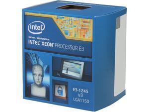 Intel Xeon E3-1245V3 Haswell 3.4 GHz LGA 1150 84W BX80646E31245V3 Server Processor