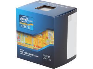 Intel Core i3-3245 - Core i3 3rd Gen Ivy Bridge Dual-Core 3.4 GHz LGA 1155 55W Intel HD Graphics 4000 Desktop Processor - BX80637I33245