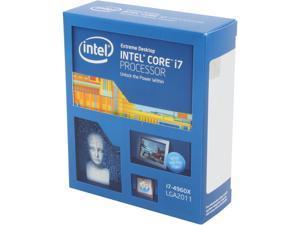 Intel Core i7-4960X - Core i7 4th Gen Ivy Bridge-E 6-Core 3.6GHz (Turbo 4GHz) LGA 2011 130W Desktop Processor - BX80633i74960X
