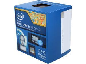 Intel Core i3-4150 - Core i3 4th Gen Haswell Dual-Core 3.5 GHz LGA 1150 54W Intel HD Graphics 4400 Desktop Processor - BX80646I34150