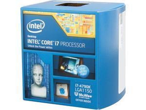 Intel Core i7-4790K - Core i7 4th Gen Devil's Canyon Quad-Core 4.0 GHz LGA 1150 88W Intel HD Graphics 4600 Desktop Processor - BX80646I74790K