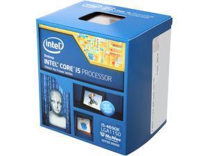 Intel Core i5-4690K Devil's Canyon Quad-Core 3.5 GHz LGA 1150 88W BX80646I54690K Desktop Processor Intel HD Graphics 4600
