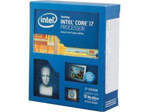 Intel Core i7-5930K - Core i7 5th Gen Haswell-E 6-Core 3.5 GHz LGA 2011-v3 140W Desktop Processor - BX80648I75930K