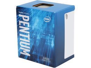 Intel Pentium G4600 - Pentium Kaby Lake Dual-Core 3.6 GHz LGA 1151 51W Intel HD Graphics 630 Desktop Processor - BX80677G4600