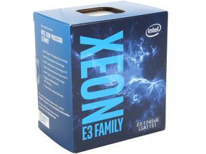 Intel Xeon E3-1245 V6 Kaby Lake 3.7 GHz (4.1 GHz Turbo) LGA 1151 73W BX80677E31245V6 Server Processor Intel HD Graphics P630
