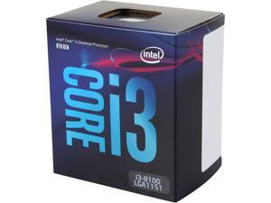 Intel Core i3-8100 Coffee Lake Quad-Core 3.6 GHz LGA 1151 (300 Series) 65W BX80684I38100 Desktop Processor Intel UHD Graphics 630