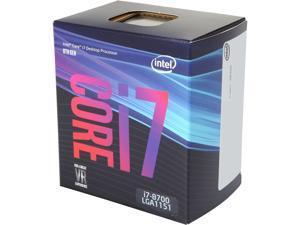 Intel Core i7 8th Gen - Core i7-8700 Coffee Lake 6-Core 3.2 GHz (4.6 GHz Turbo) LGA 1151 (300 Series) 65W BX80684I78700 Desktop Processor Intel UHD Graphics 630