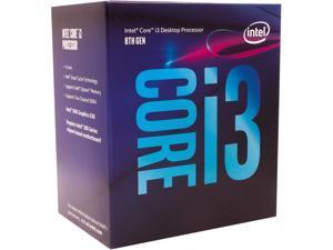 Intel Core i3 8th Gen - Core i3-8300 Coffee Lake Quad-Core 3.7 GHz LGA 1151 (300 Series) 65W BX80684I38300 Desktop Processor Intel UHD Graphics 630