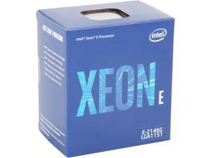 Intel Xeon E-2146G Coffee Lake 3.5 GHz LGA 1151 80W BX80684E2146G Server Processor Intel UHD Graphics P630