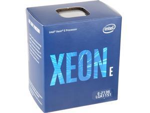 Intel Xeon E-2136 Coffee Lake 3.3 GHz LGA 1151 80W BX80684E2136 Server Processor