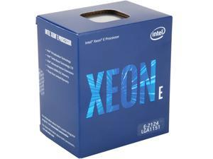 Intel Xeon E-2124 Coffee Lake 3.3 GHz  (4.3 GHz Turbo)  LGA 1151 71W BX80684E2124 Server Processor