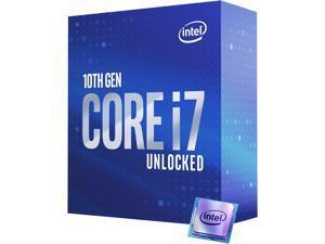 Intel Core i7 10th Gen - Core i7-10700K Comet Lake 8-Core 3.8 GHz LGA 1200 125W Desktop Processor w/ Intel UHD Graphics 630