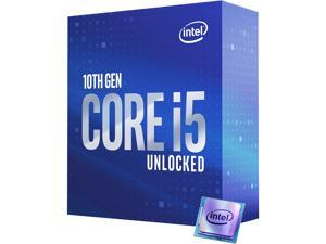 Intel Core i5-10600K Comet Lake 6-Core 4.1 GHz LGA 1200 125W BX8070110600K Desktop Processor Intel UHD Graphics 630