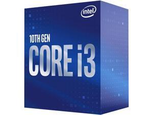 Intel Core i3-10100 Comet Lake Quad-Core 3.6 GHz LGA 1200 65W BX8070110100 Desktop Processor Intel UHD Graphics 630
