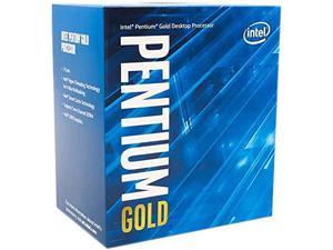 Intel Pentium Gold G6600 Comet Lake Dual-Core 4.2 GHz LGA 1200 58W CM8070104291510 Desktop Processor Intel UHD Graphics 630