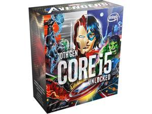 Intel Core i5-10600KA Comet Lake 6-Core 4.1 GHz LGA 1200 125W Desktop Processor Intel UHD Graphics 630 - Avenger Special Edition (Avenger Game Not Included) - BX8070110600KA